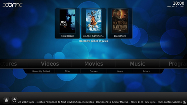 xbmc android home media center